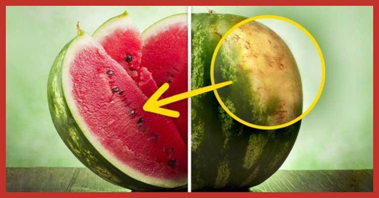Cum sa alegi cel mai bun pepene verde